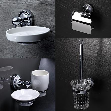 Аксессуары для ванной и WC